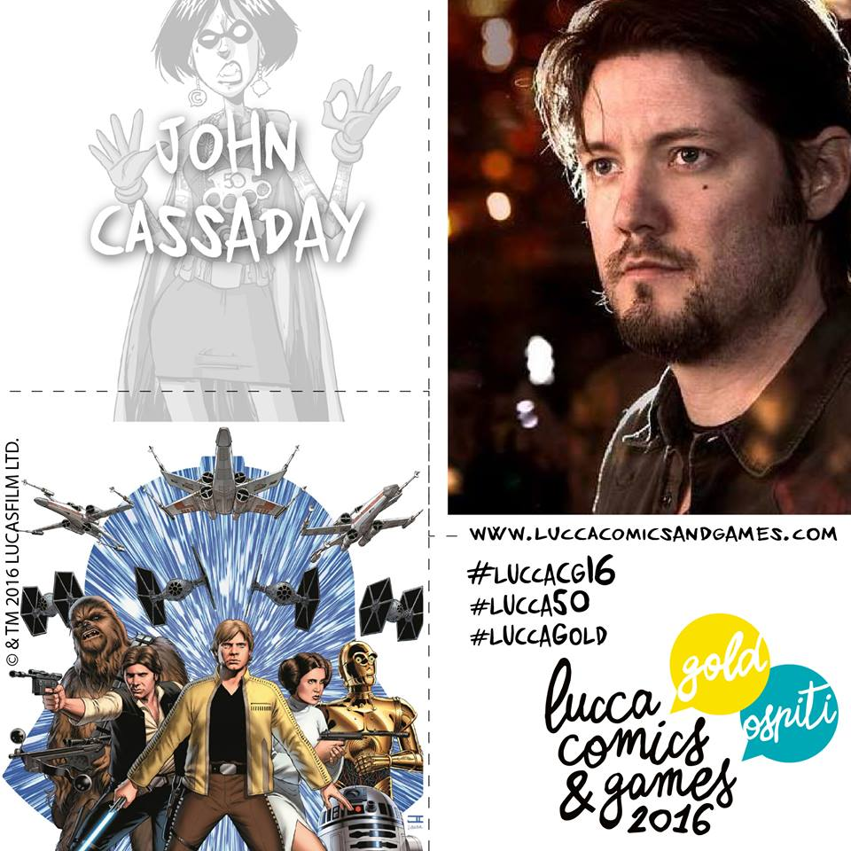 John Cassaday a Lucca Comics & Games 2016!