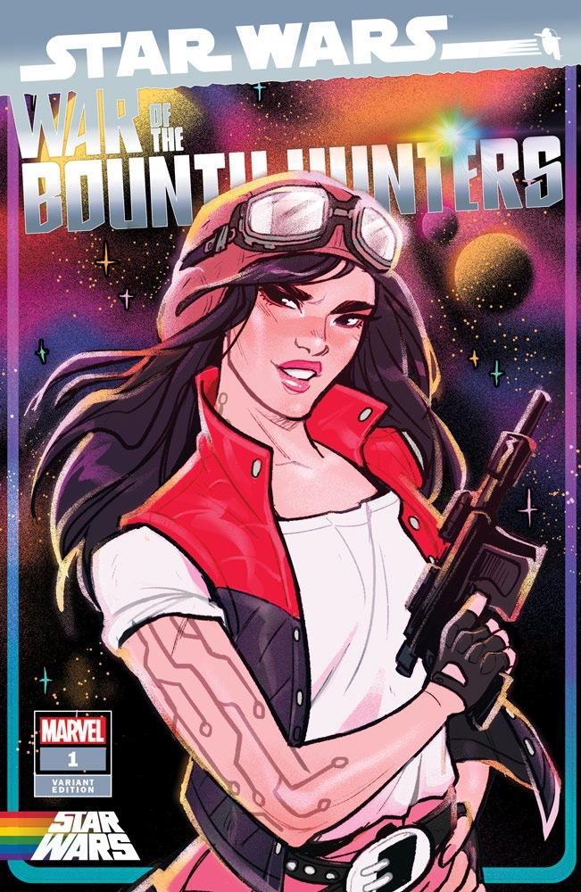 War of the Bounty Hunters #1 (Chelli Lona Aphra)
