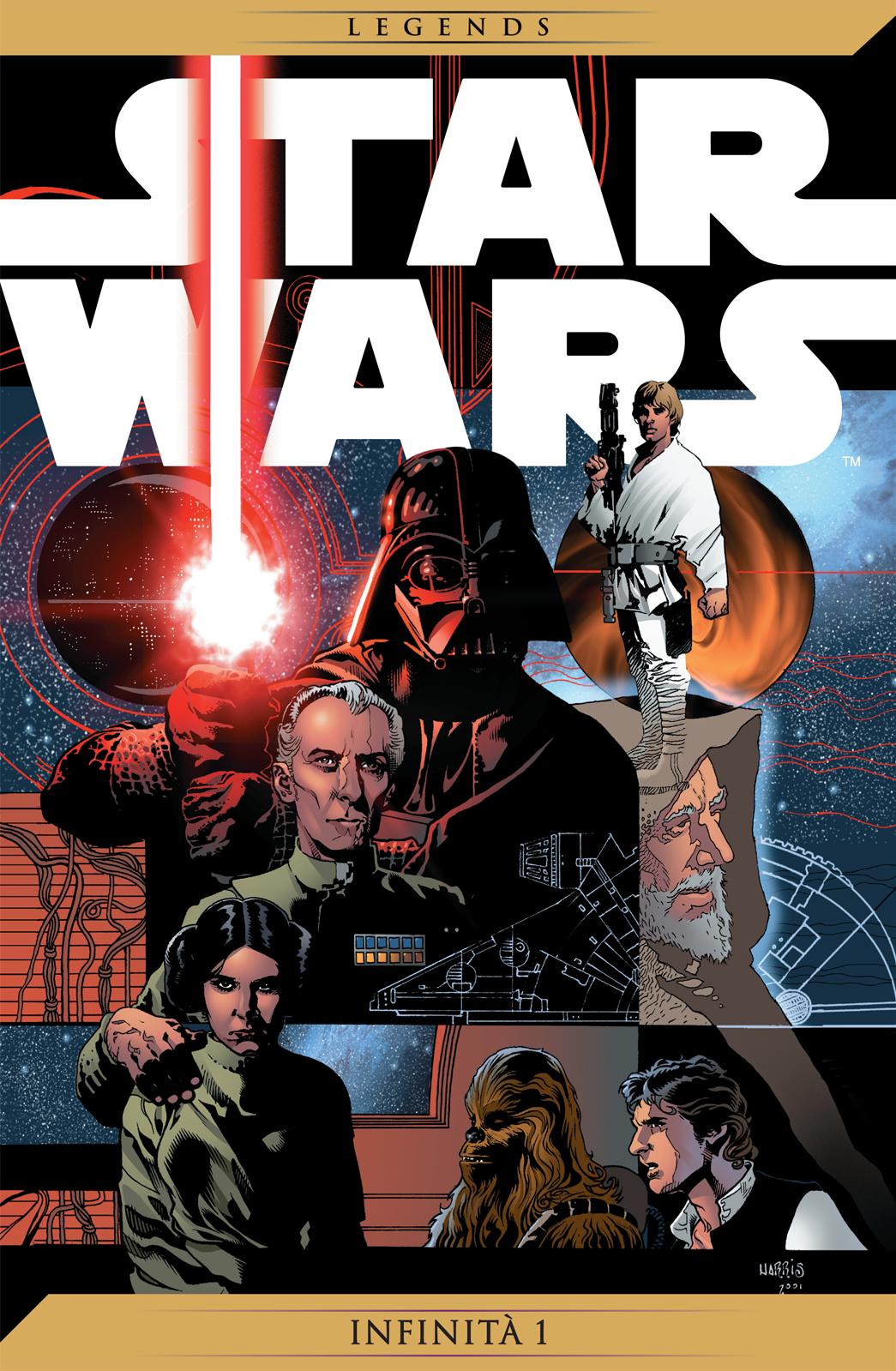 Star Wars Infinità 1 cover