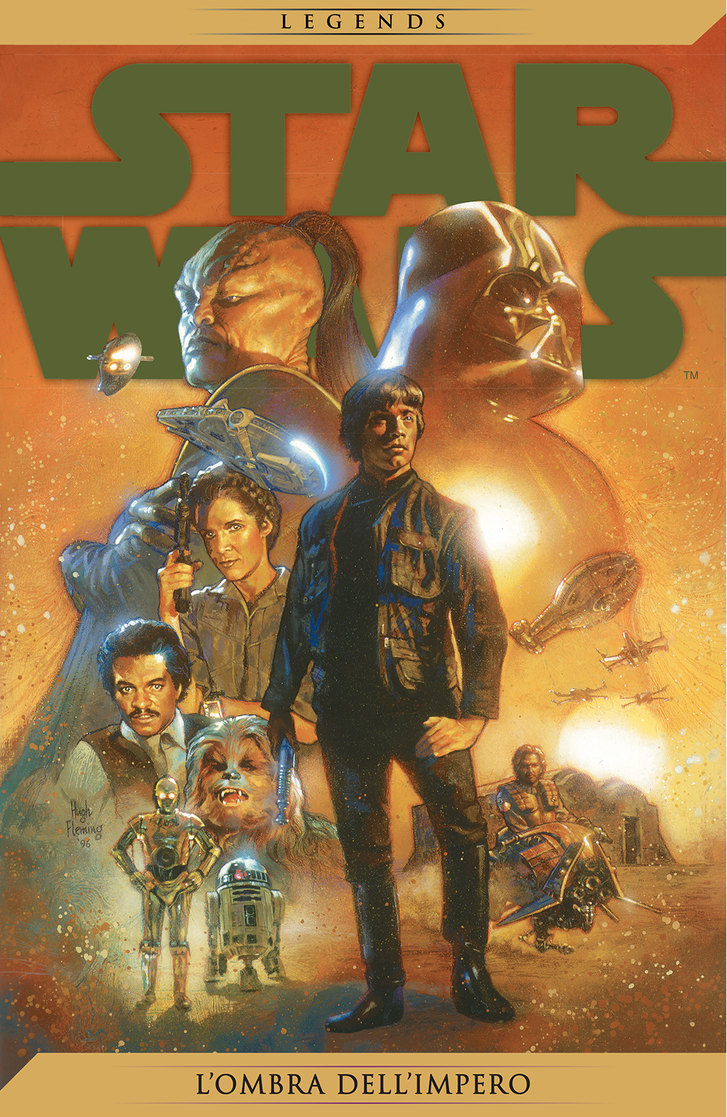 L'Ombra dell'Impero Legends cover