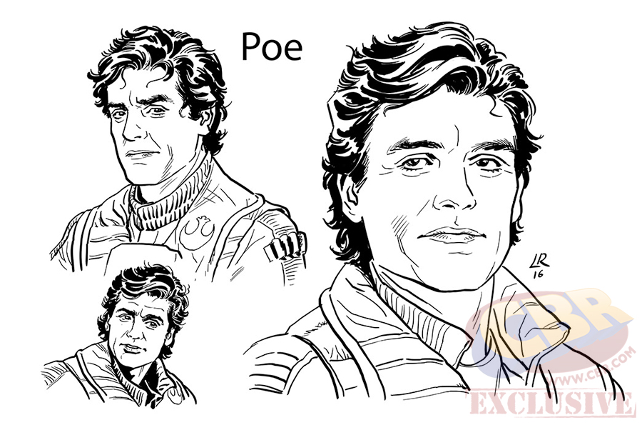Il risveglio della Forza adattamento fumetti Poe