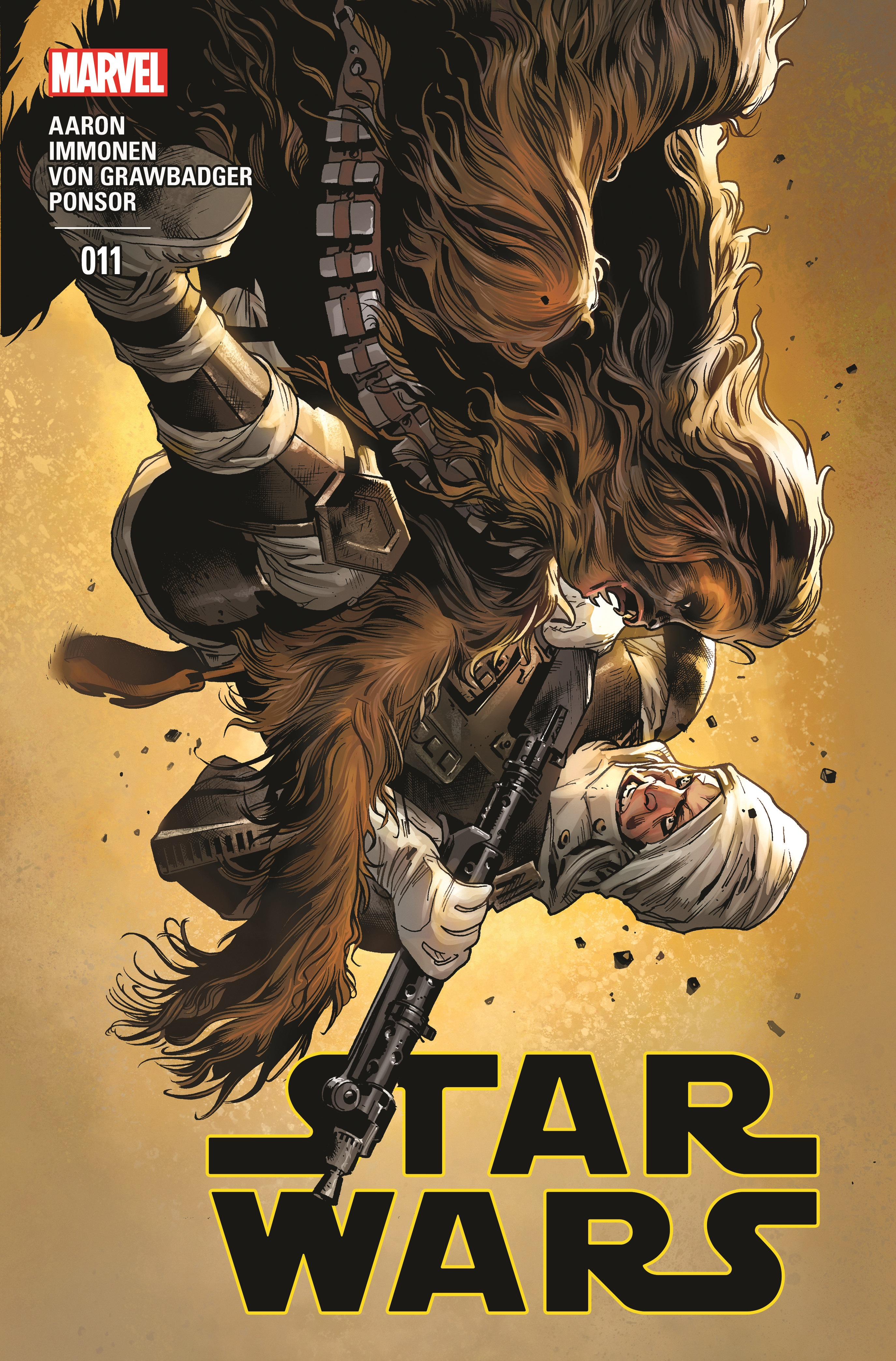 Star Wars 11 cover USA