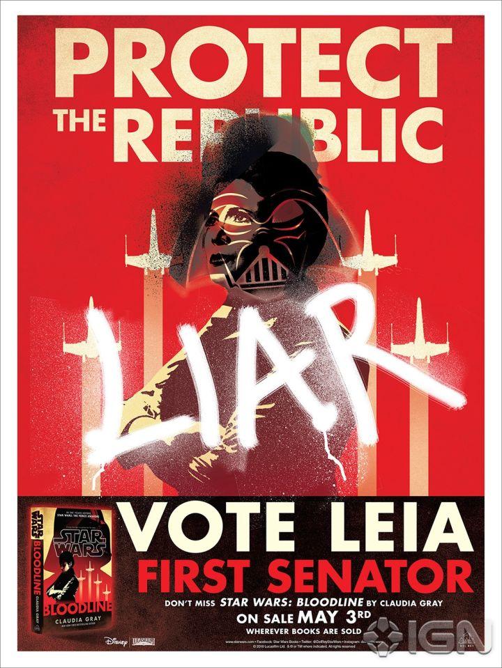 Star Wars Bloodline poster 1