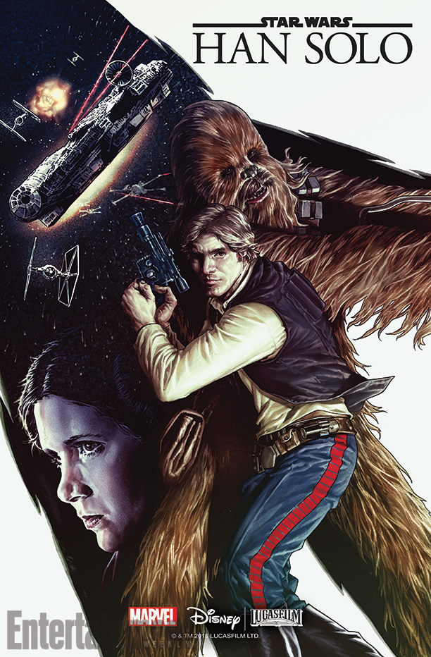 fumetti star wars Han Solo Marvel Cover