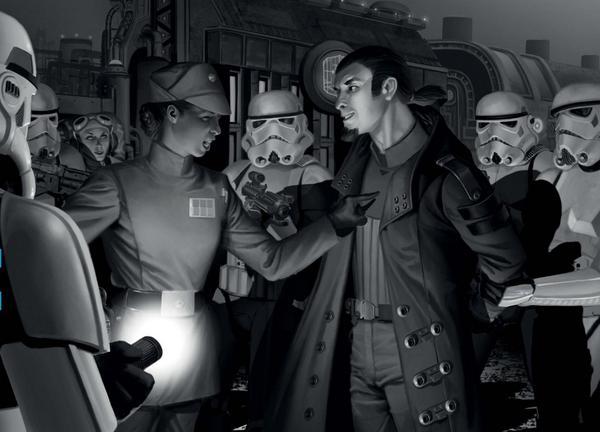 Star Wars: Una nuova alba artwork 2