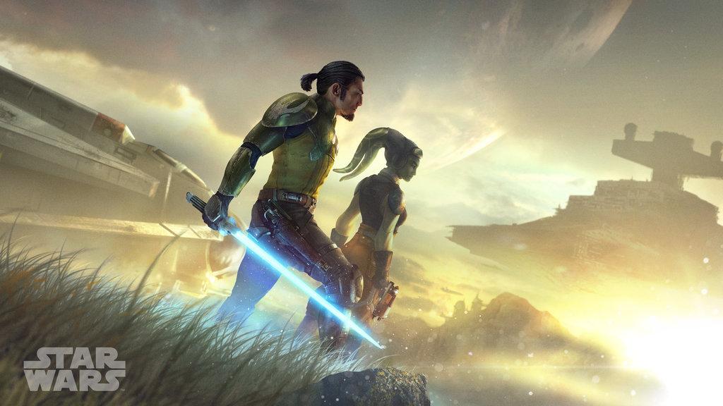 Star Wars: Una nuova alba wallpaper