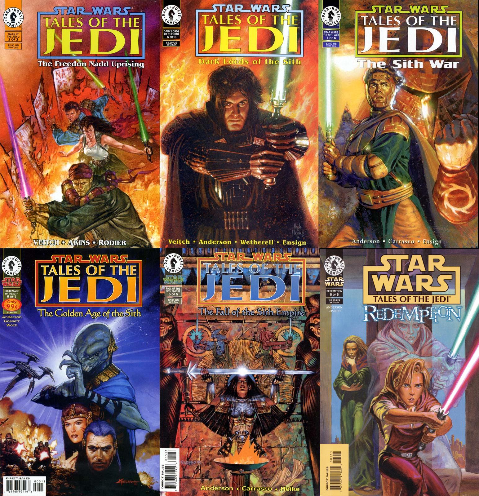 le cronache dei jedi cover art