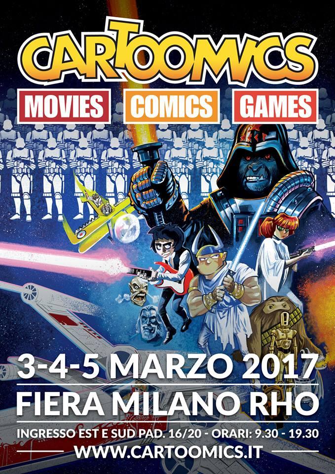 cartoomics milano poster 2017