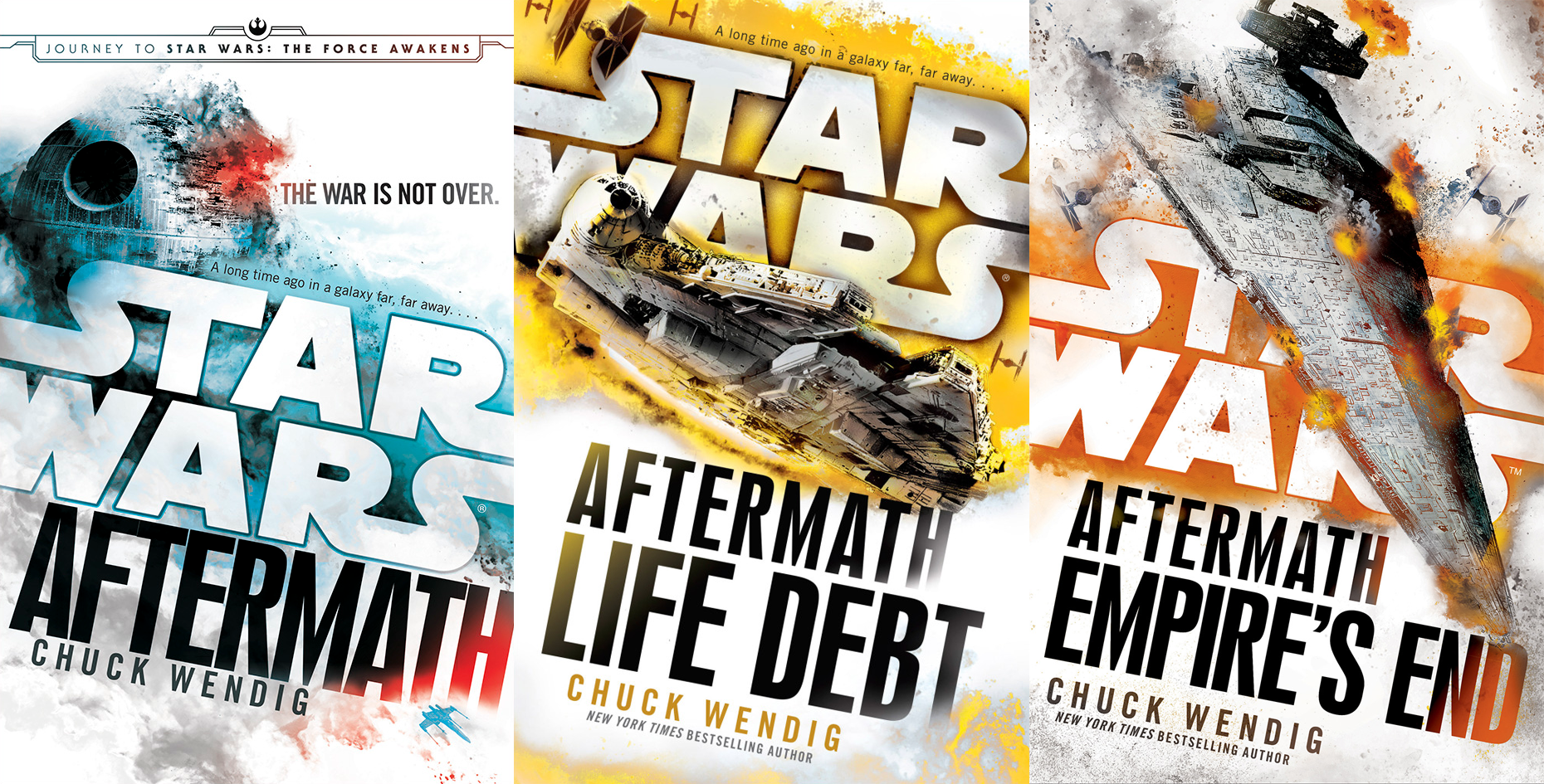 star wars a natale aftermath trilogia