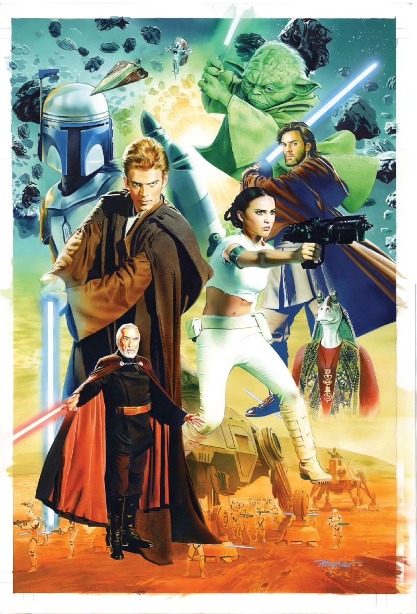 Attack of the Clones Cover Marvel