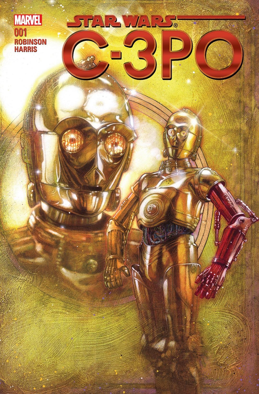 C-3PO cover Marvel regular