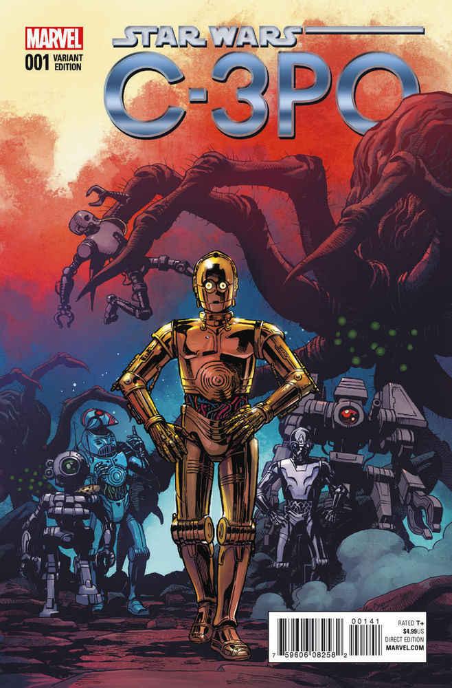 C-3PO variant cover Marvel