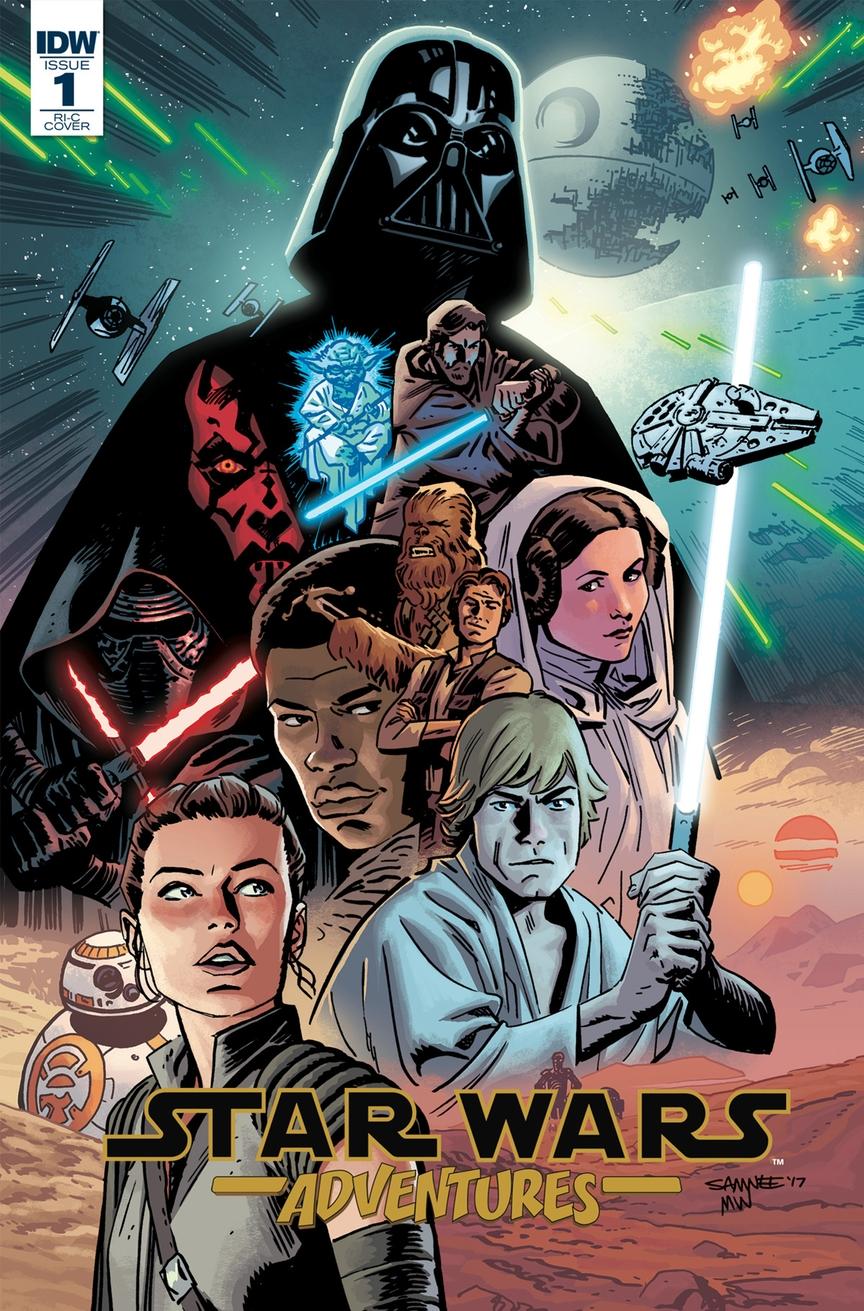 Adventures 1 cover variant Chris Samnee