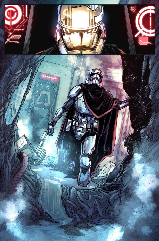 Captain Phasma tavola 1
