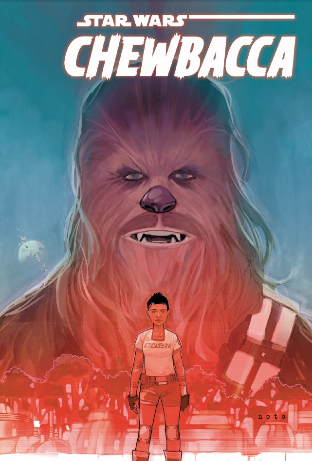 Chewbacca Marvel cover