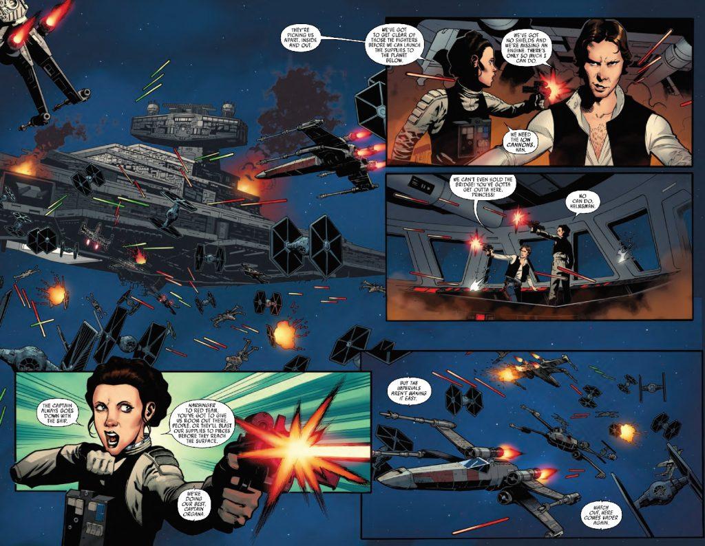 star wars 25 splash page