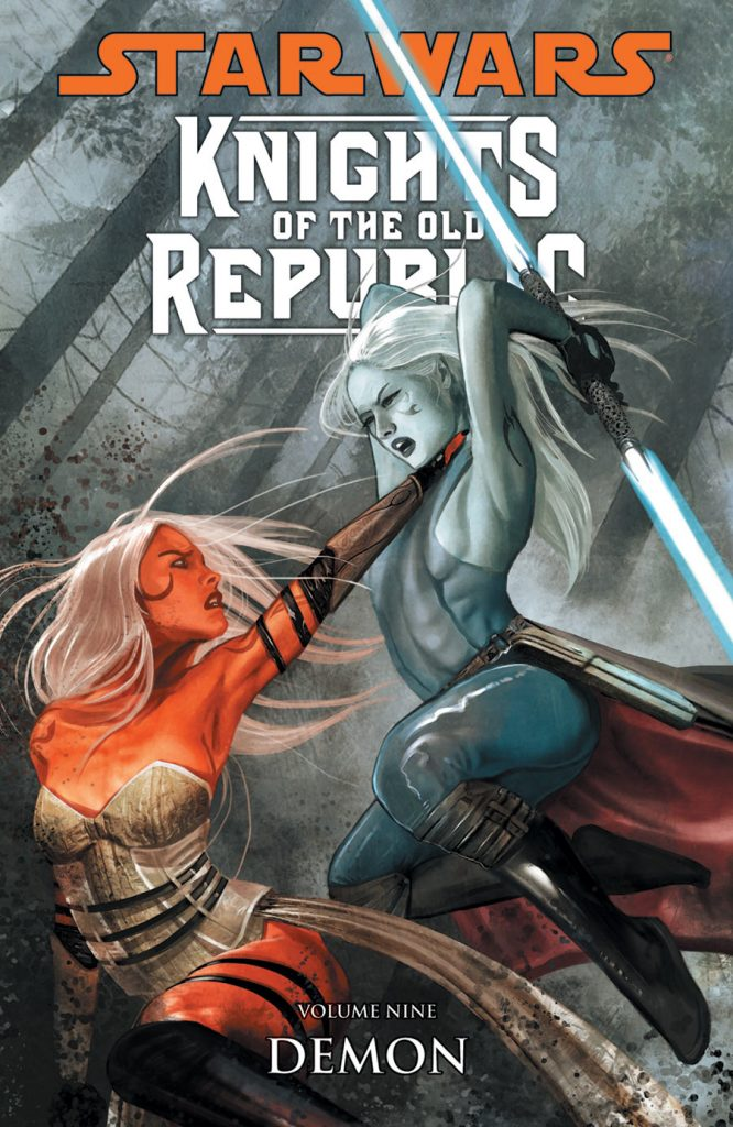 anteprima panini comics knigths of the old republic demone