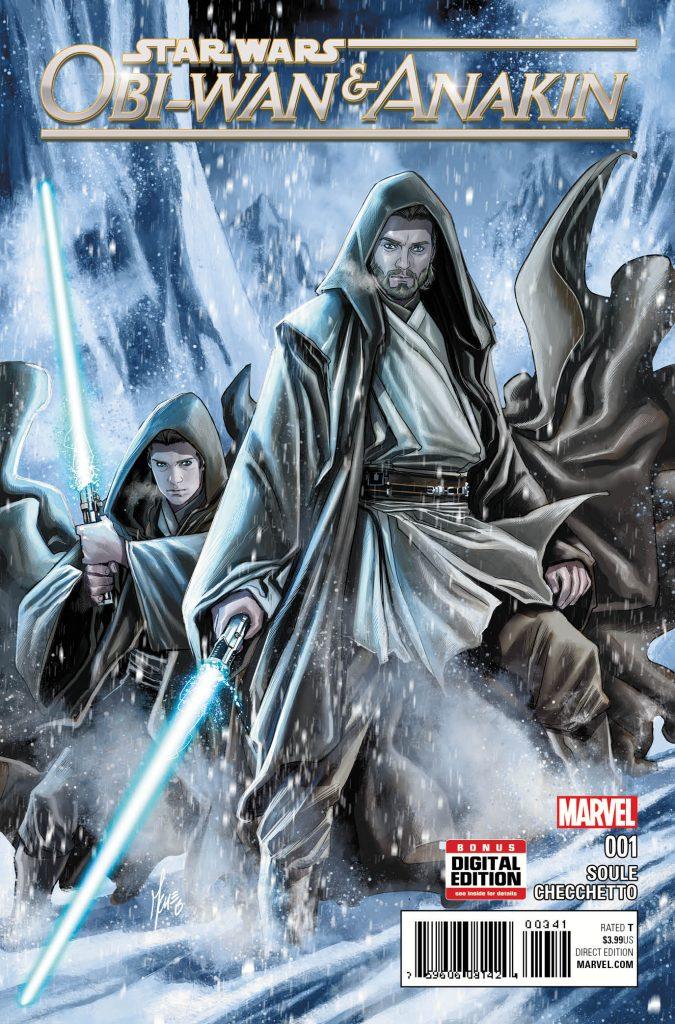 anteprima panini comics Star Wars: Obi-Wan & Anakin