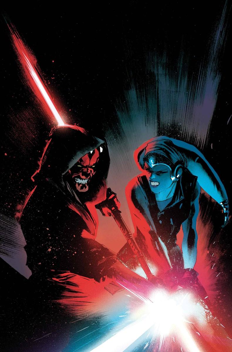 Darth Maul 5 cover Marvel