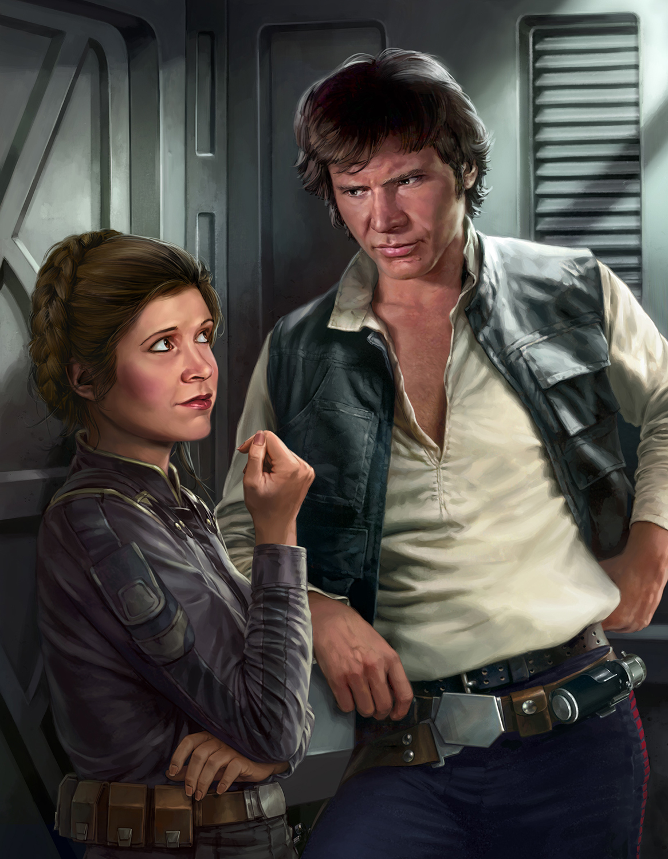 Razors Edge Han Leia Trevas