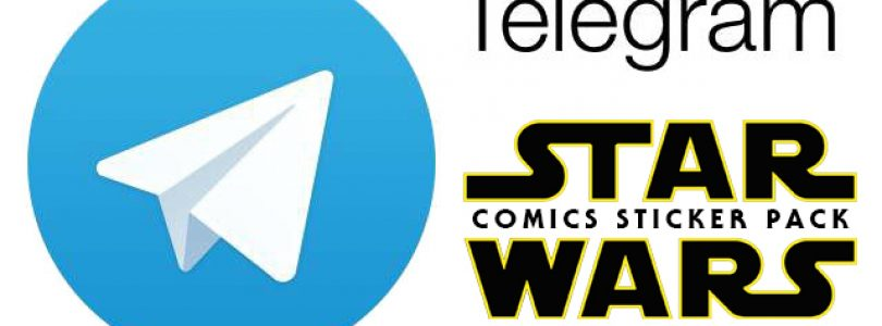 star wars comics sticker pack