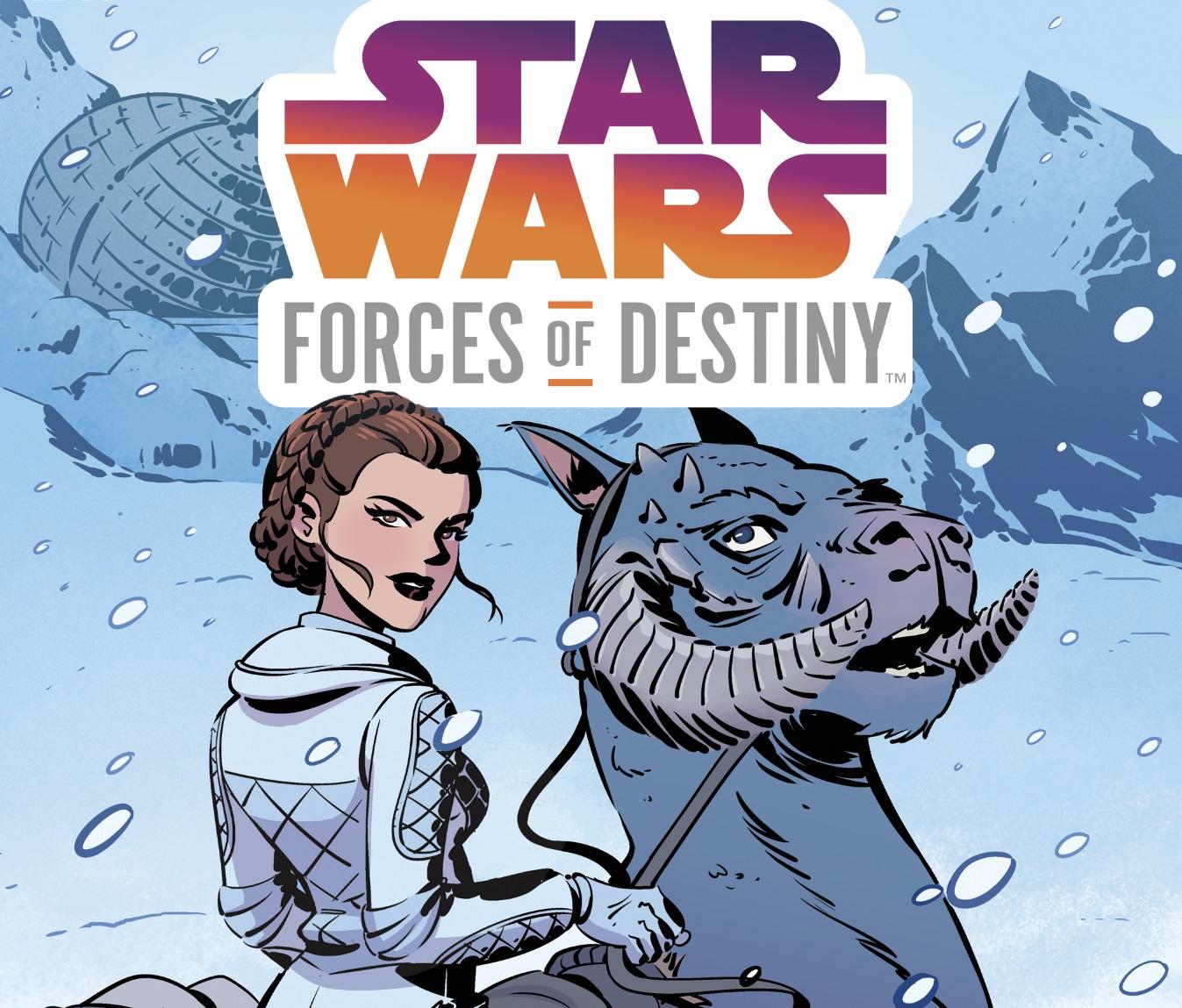 Leia Forces od Destiny IDW evidenza