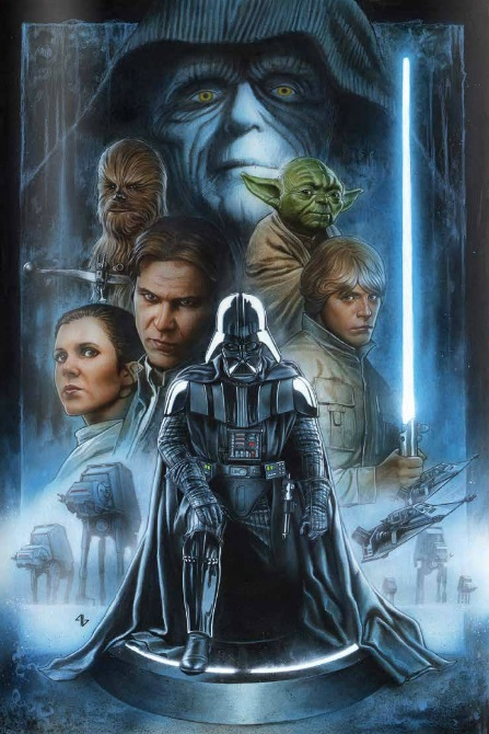 The Empire Strikes Back cover