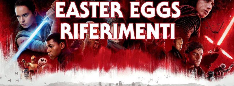 gli ultimi jedi easter eggs