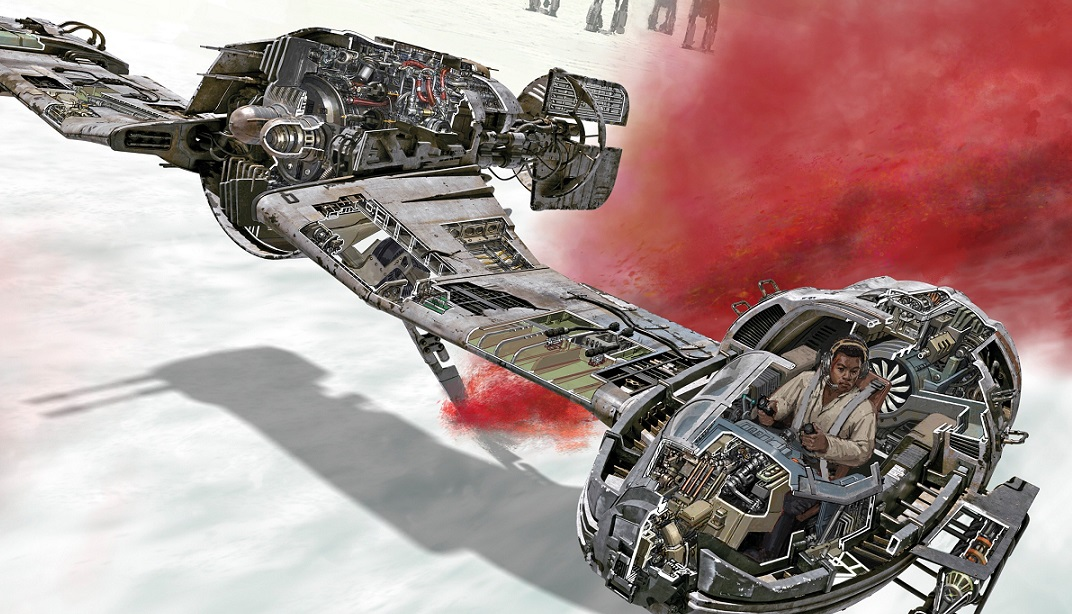 The Last Jedi Incredible Cross-Sections evidenza