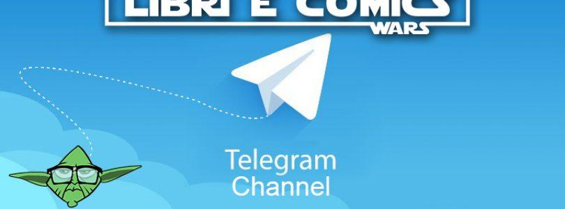 Star Wars Libri & Comics è lieta di annunciare il nuovo canale Telegram ufficiale!