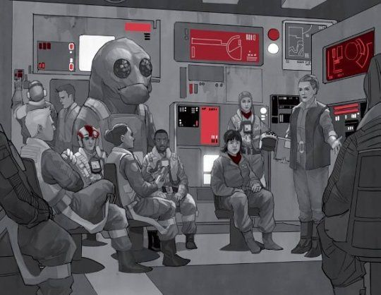 Cobalt Squadron Leia