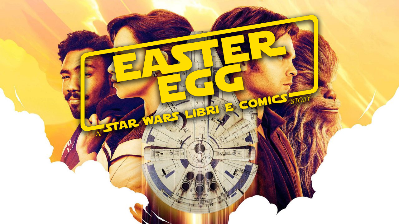 Solo a Star Wars Story easter egg