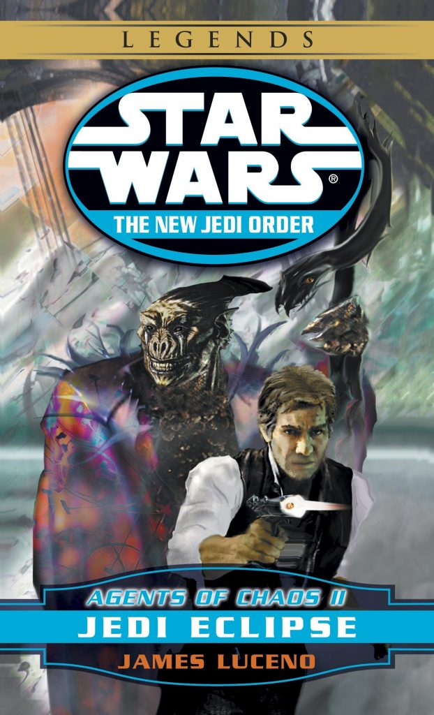NJO Agents of Chaos II Jedi Eclipse cover B