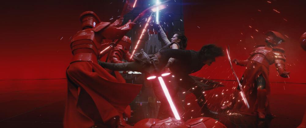 Rey Kylo Ren Gli Ultimi Jedi