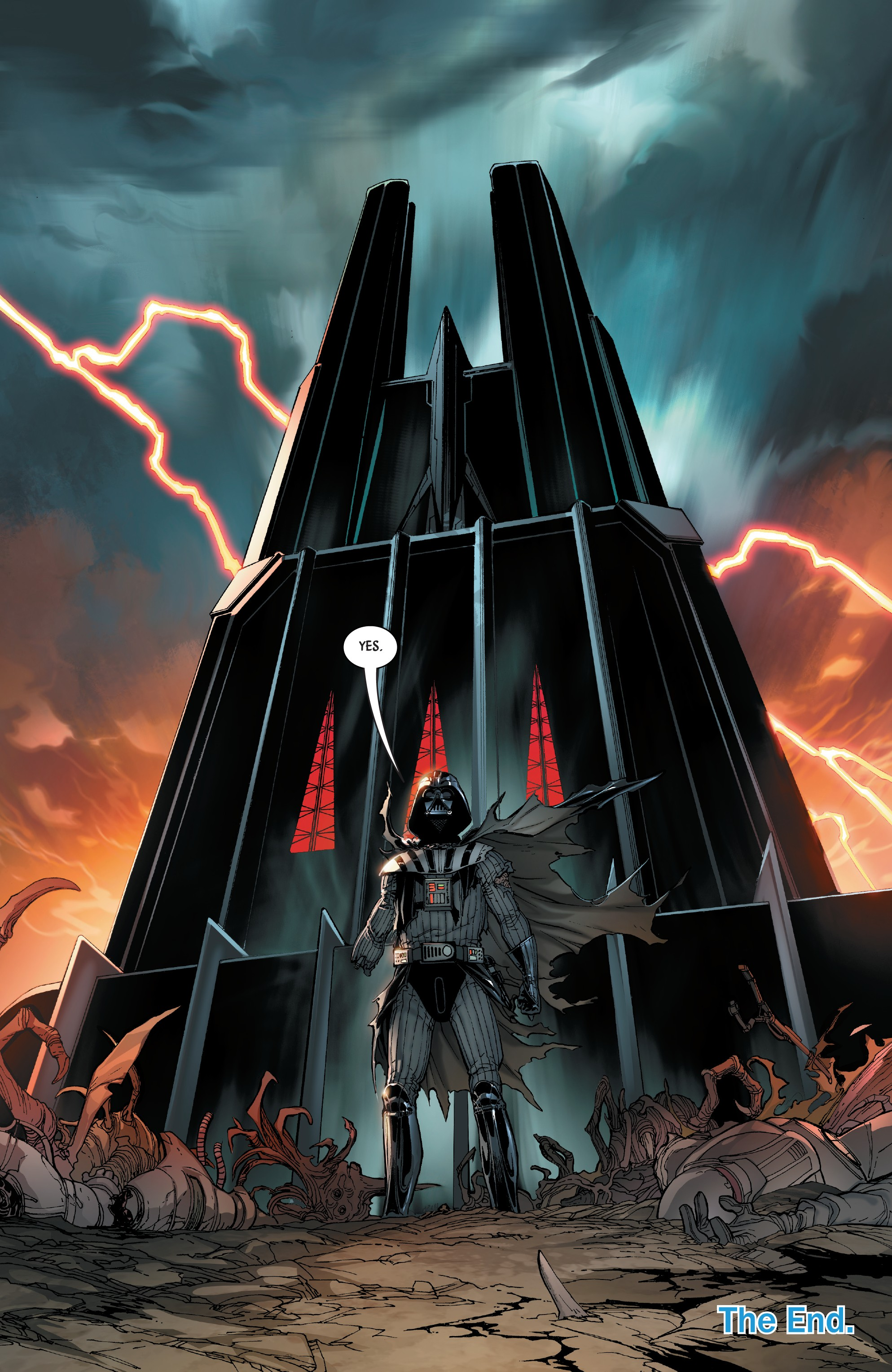 darth vader dark lord of the sith finale