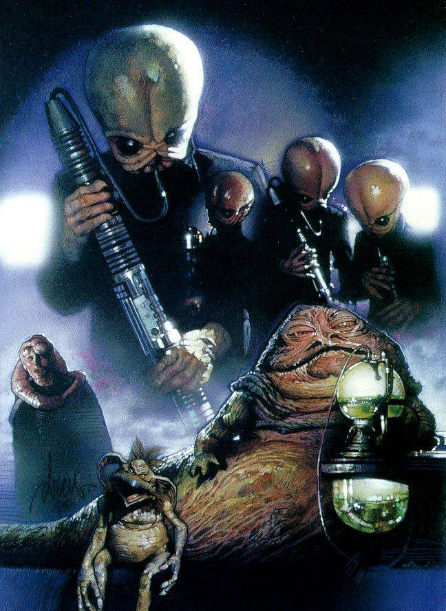 Bith Tales From the Mos Eisley Cantina