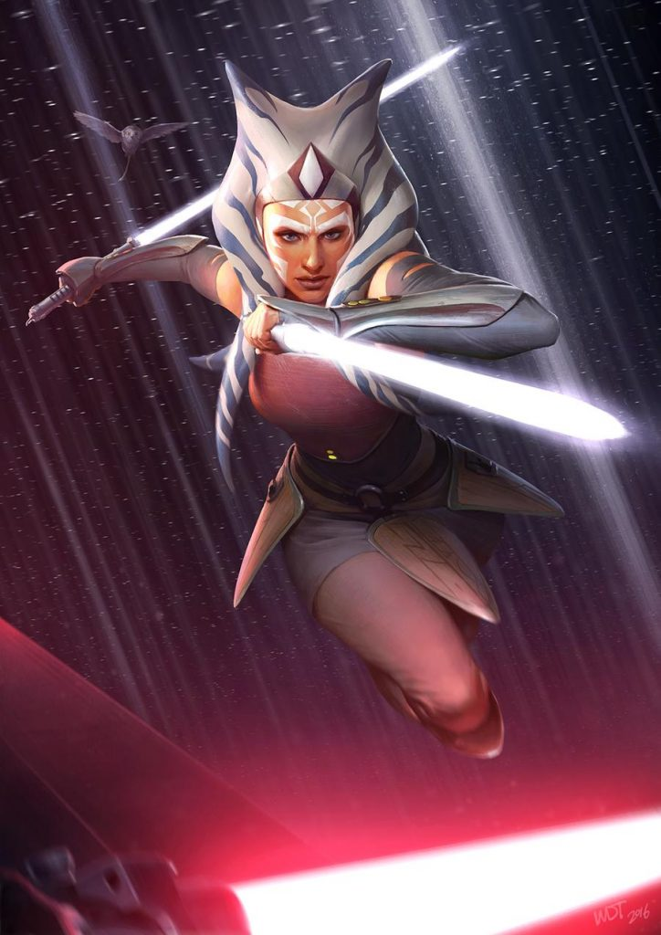 Ahsoka art Darren Tan