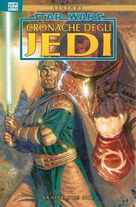 Le Cronache degli Jedi 5 La Guerra dei Sith Panini cover