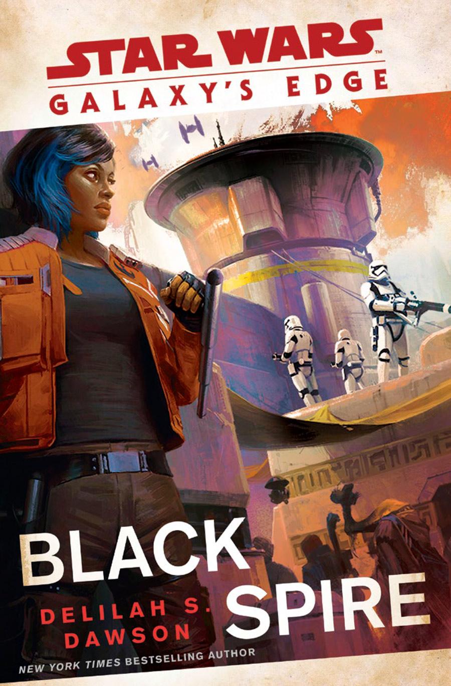 Galaxy's Edge: Black Spire cover