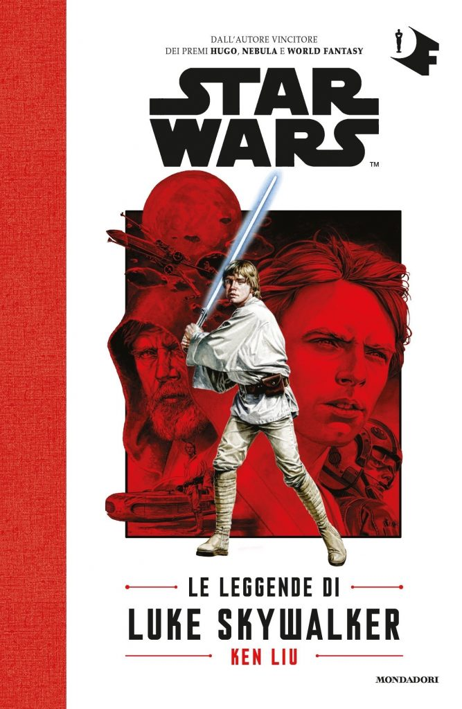 Le Leggende di Luke Skywalker cover Mondadori