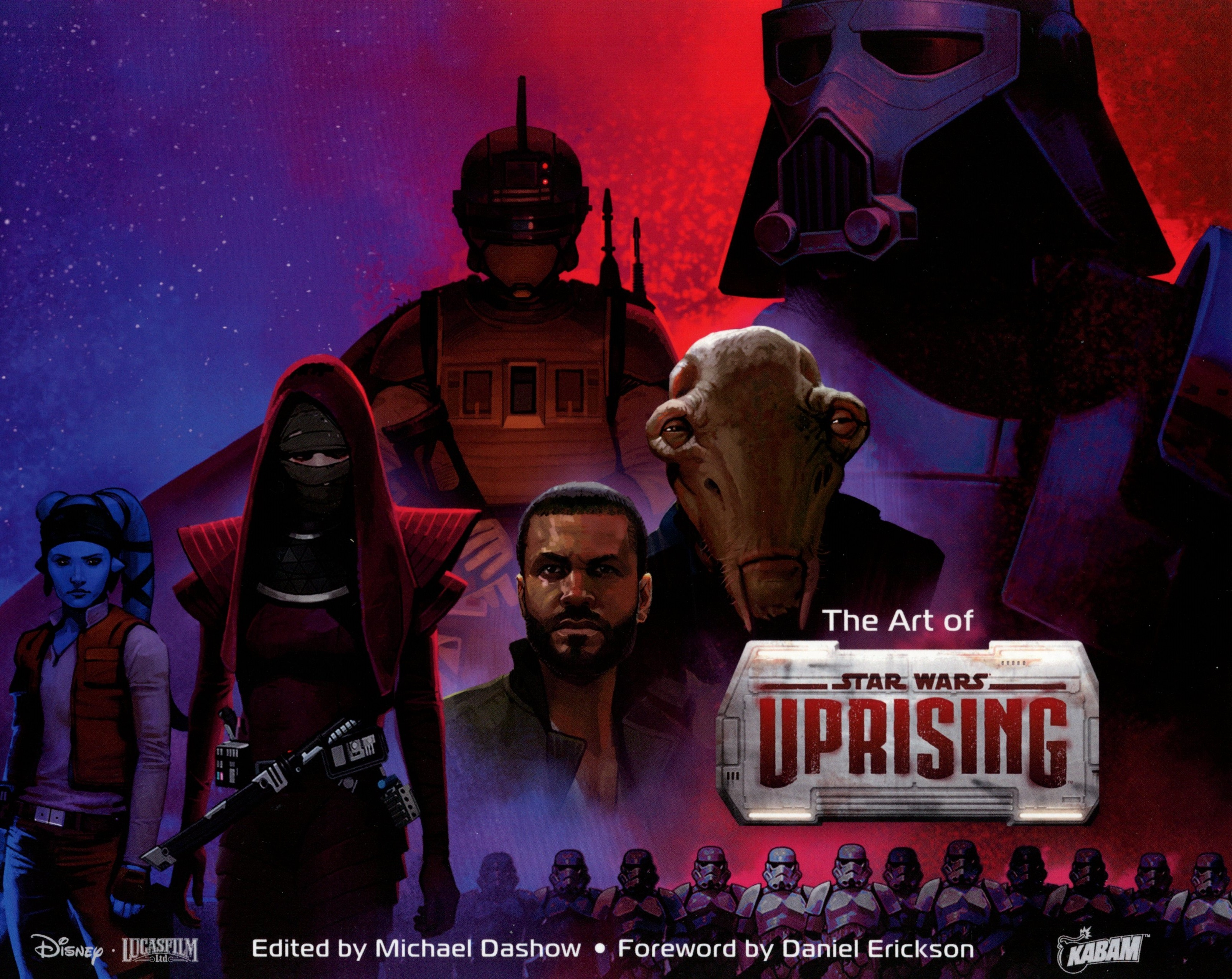 The Art of Star Wars Uprising cover