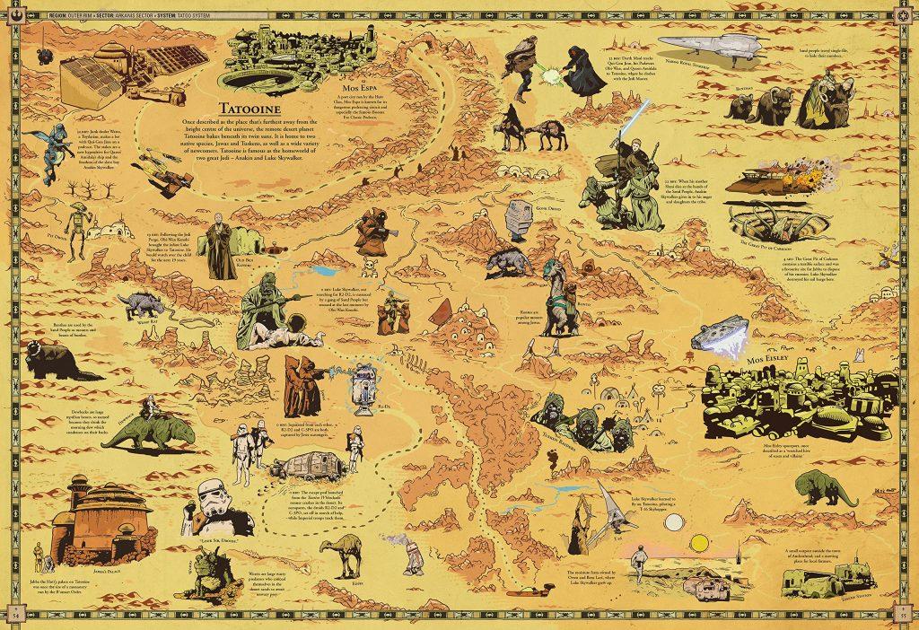 Tatooine Map Galactic Atlas