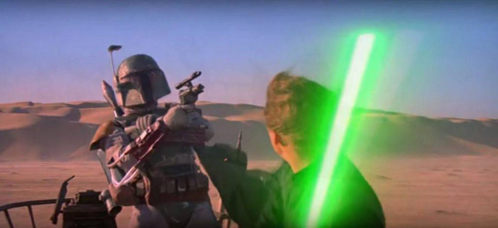 Boba Fett Luke Il Ritorno dello Jedi
