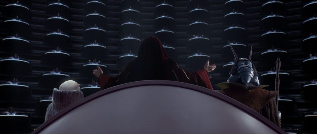 Palpatine Proclamation of the New Order