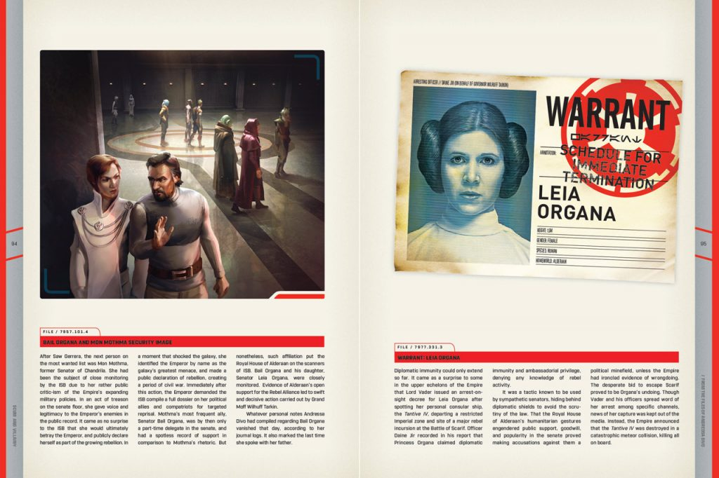 Leia Organa Warrant