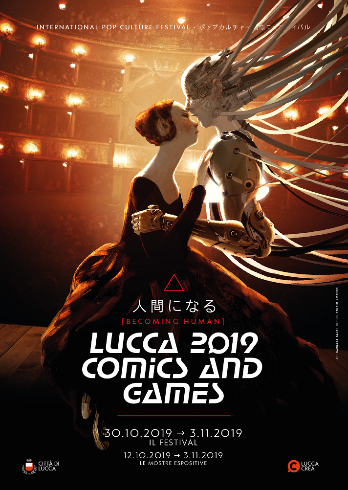 Lucca Comics Games 2019 Poster