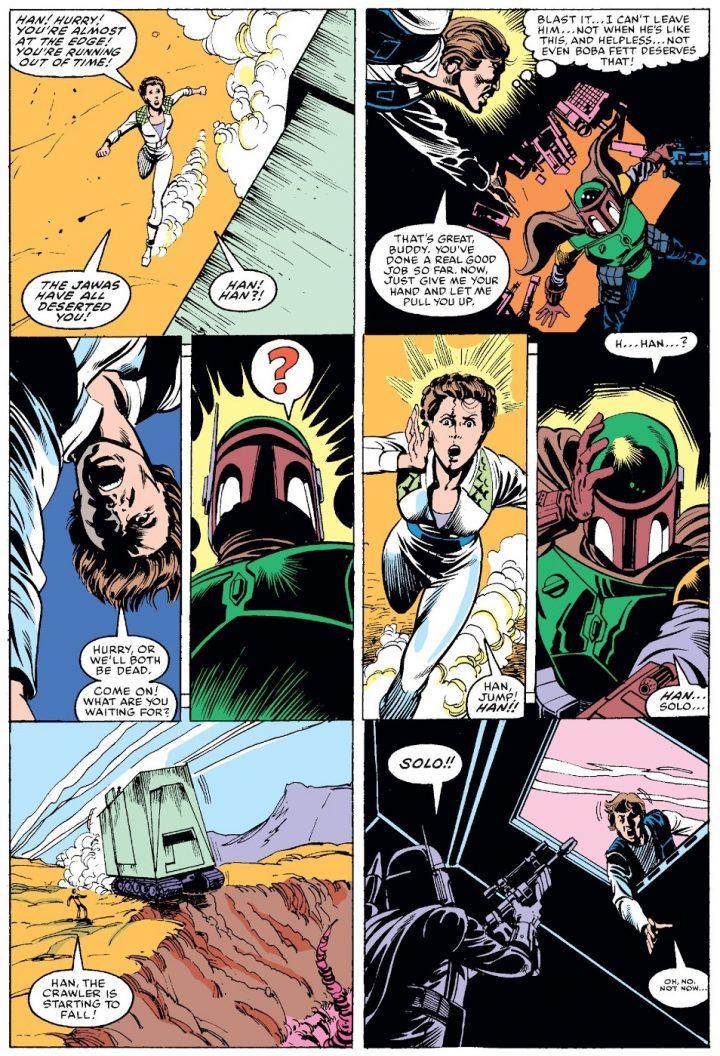 Star Wars Marvel 81 Boba Fett