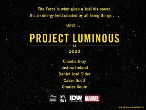 project luminous
