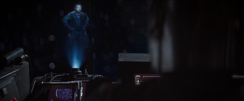 The Mandalorian Greef Karga Hologram
