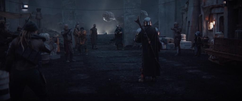The Mandalorian Fight